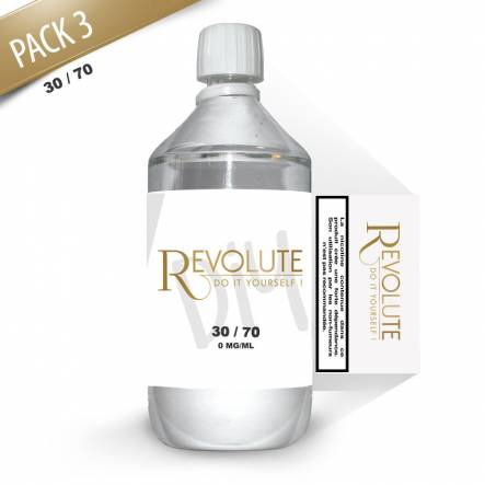 Revolute - Base Pack TPD 1 LITRE 30/70 3MG