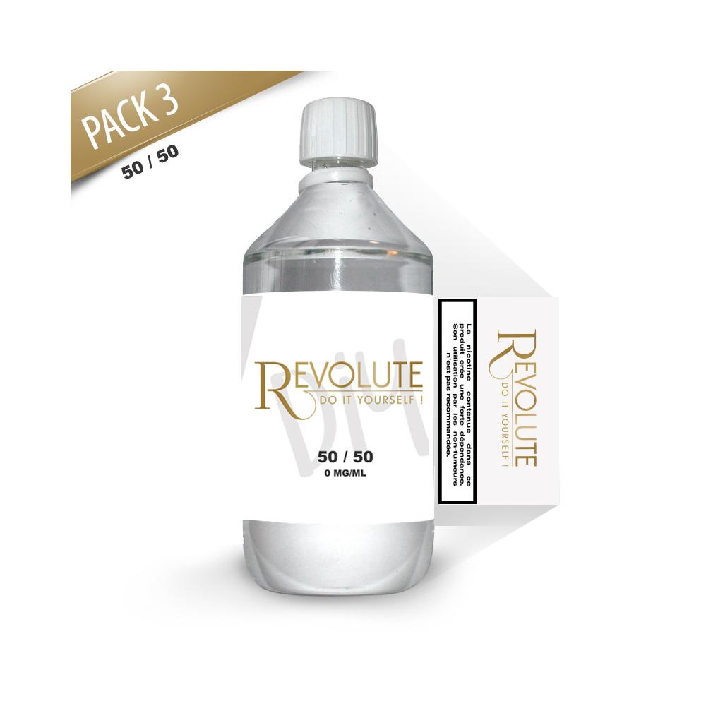 Revolute - Base Pack TPD 1 LITRE 50/50 3MG