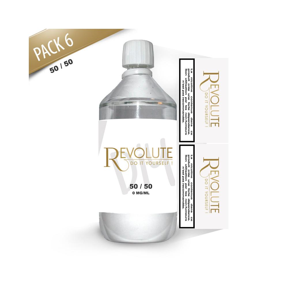 Revolute - Base Pack TPD 1 LITRE 50/50 6MG