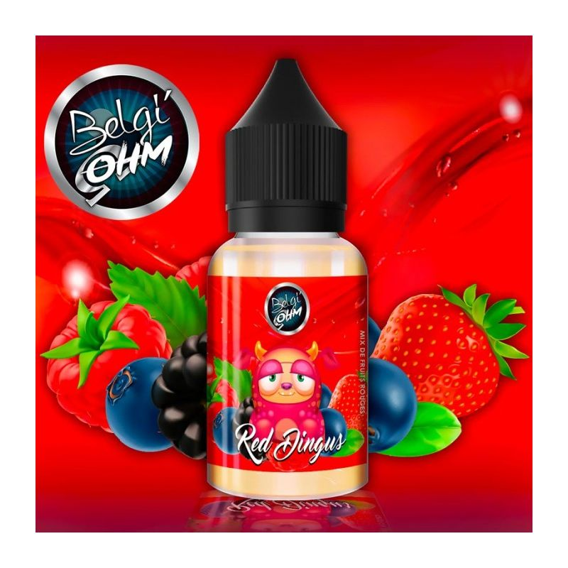 Belgi'Ohm- Red Dingus Concentre 30ml