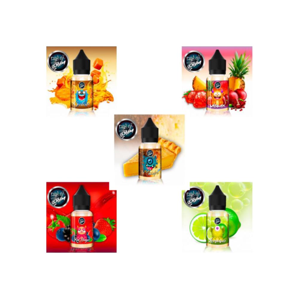 Pack implantation - Prestige Fruit Fruité [4 liquides]