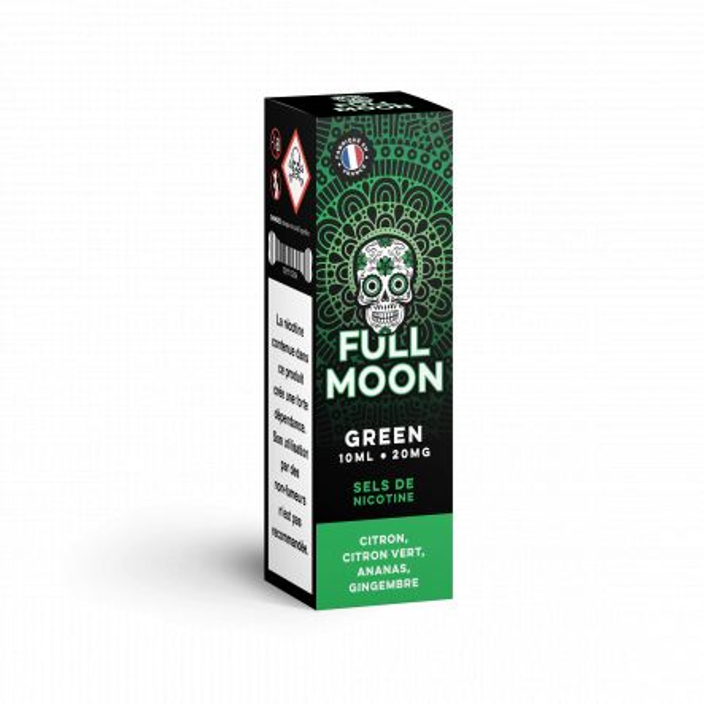 Full Moon - Green Salt Nic 10ml TPD x10