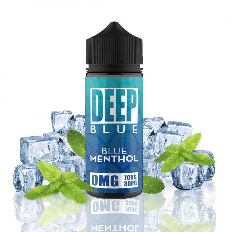 Deep Blue - Blue Menthol 100ml