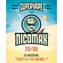 Booster Supervape - Nicomax TPD FR/BE 20MG 20/80 x10