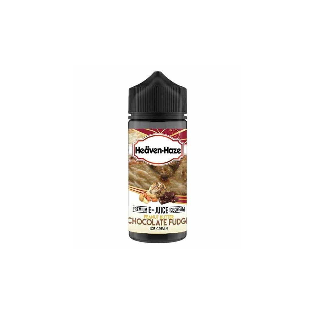 Heaven Haze - Peanut Butter Chocolate Fudge Ice Cream 100ML