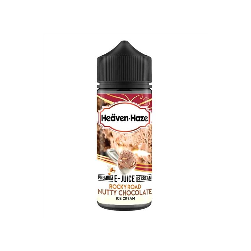 Heaven Haze - Rocky Road Nutty Chocolate Ice Cream 100ML
