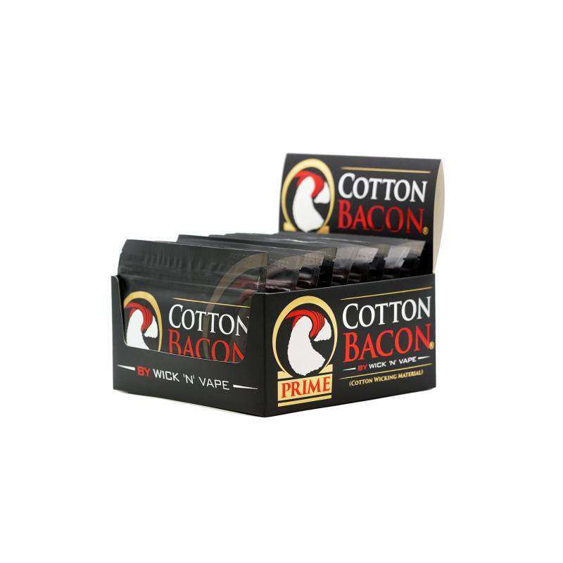 Cotton Bacon Prime (10 pièces)